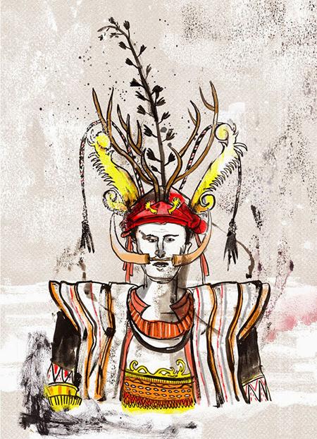 Nias-warrior-Dwie-Judha