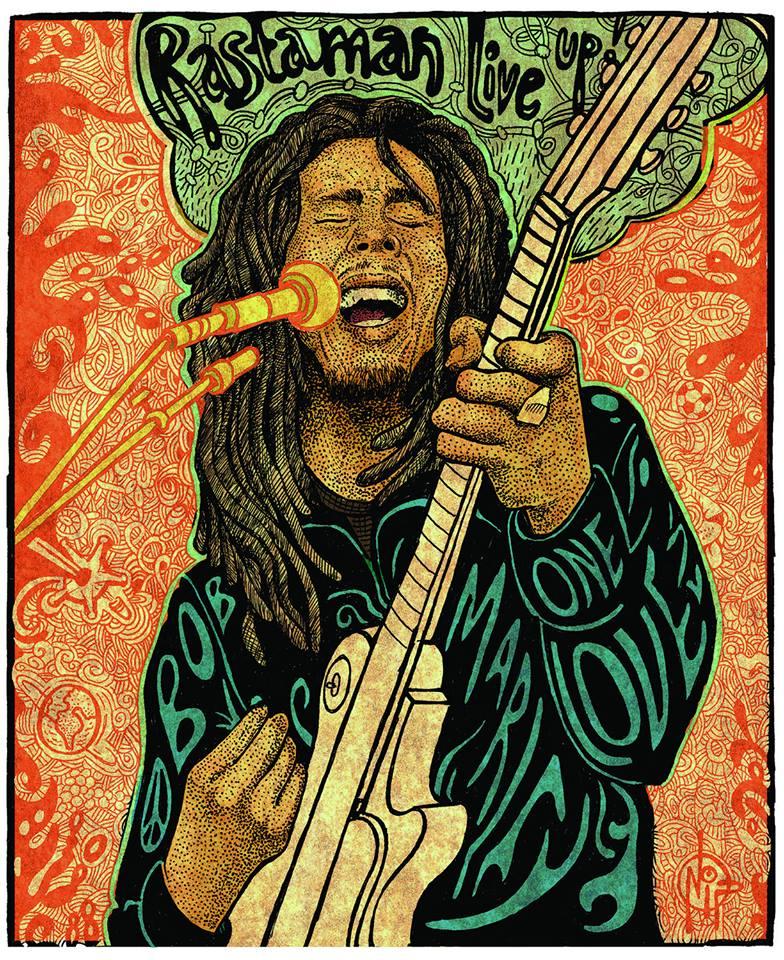 Bob Marley Bed Sheets