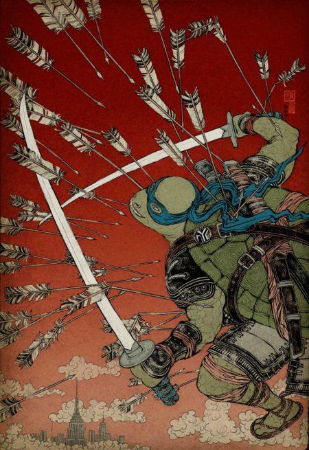 Teenage Mutant Ninja Turtles for Paramount Pictures