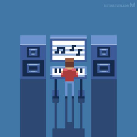 metin-seven_pixel-art-artist-illustrations_electronic-digital-musician