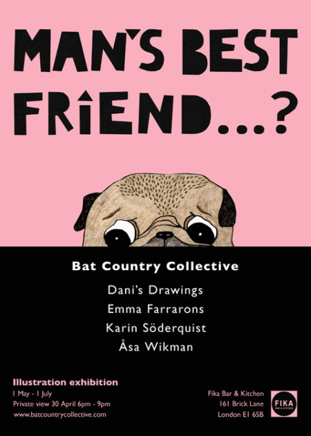 Mans-Best-Friend-Exhibition-at-Fika-London-1-May-to-1-July-2015